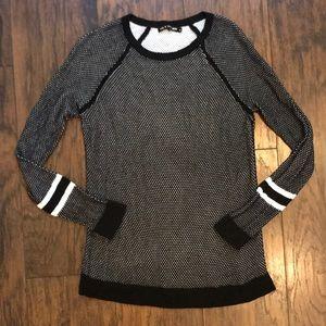 Rag & Bone Open Knit Black/White Sweater